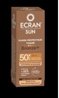 Fluide Protecteur Visage Bronze SPF50 + Ecran