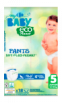 Couches-culotte Eco Planet T5 (12-18 kg) x18 My Carrefour Baby