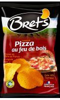 Chips de pommes de terre saveur Pizza au feu de bois Bret's