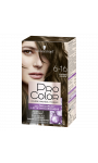 Coloration cheveux permanente châtain cendre 6.16 Pro Color