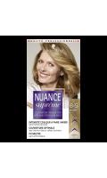Coloration cheveux séciale cheveux blancs 8.5 blond doré Nuance Suprême