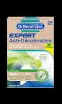 Lingettes expert anti-décoloration natura Dr.Beckmann