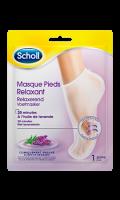 Masque pieds relaxant lavande Scholl
