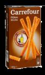 Biscuits apéritif flûtes sésame Carrefour