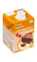 Crème anglaise UHT Carrefour