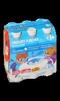 Yaourts à boire aromatisés Carrefour Kids