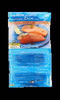 Pavés de saumon de Norvège surgelés Filière Qualité Carrefour