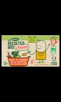 Les récoltes Bio à mélanger: Sauce duo de fleurettes lait de coco curry Blédina