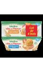 Idées De Maman Carottes Navets Petits Pois Bœuf & Tomates Semoule Poisson Blédina
