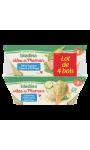 Idées De Maman Petits Légumes Saumon Du Pacifique & Courgettes Petites Pâtes Merlu Blanc B
