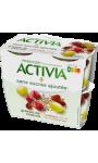 Yaourt sans sucres ajoutés Jus De Raisin Cranberry Graines De Chanvre Activia