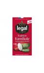 Capsules Végétales Espresso Tradition Familiale Legal