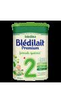 Lait bébé 2ème âge Premium formule épaissie Blédilait
