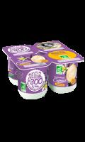 Yaourt brassé crémeux vanille bio Les 300 & Bio