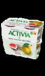 Yaourt sans sucres ajoutés graines de chia, poire & figue Activia