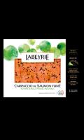 Saumon atlantique fumé à l'huile basilic Labeyrie
