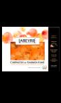 Carpaccio de saumon fumé Atlantique à l'huile citron Labeyrie