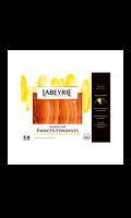 Emincés de saumon fumé huile citron et graines de pavot Labeyrie