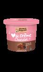 Crème dessert chocolat et pointe de sel de Guérande Michel et Augustin