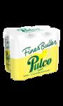 Eau gazeuse fines bulles aromatisée au citron Pulco