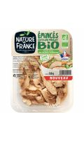 Emincé de poulet rôti nature Bio Nature de France