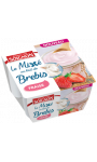 Le mixé au lait de brebis fraise Soignon