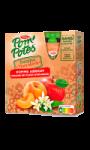Compotes en gourde pomme abricot sans sucres...