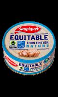 Thon entier nature equitable MSC Saupiquet