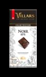 Tablette de chocolat noir 85% Villars