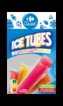 Glaces à l'eau Ice Tubes Carrefour Classic'