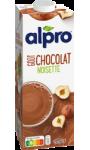 Boisson goût chocolat noisette Alpro