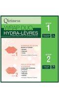 Wrap duo hydra-lèvres 2 Step lip scrub Qiriness