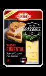 Fromage emmental en tranches spécial croque Président