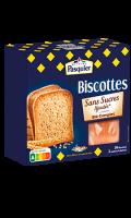 Biscottes blé complet sans sucres ajoutés Pasquier