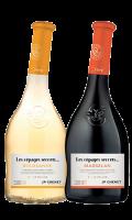 Vin blanc ou rouge cépages secrets JP. Chenet