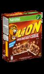 Barres de céréales caramel chocolat Lion