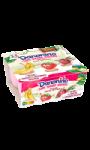 Yaourt banane fraise betterave sans sucres ajoutés Danonino
