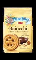 Biscuits fourrés noisettes cacao Mulino Bianco