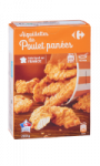 Aiguillettes de Poulet Panées Carrefour
