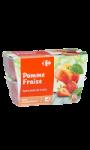 Spécialité de fruits Pommes Fraises ...