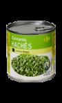 Epinards hachés Carrefour