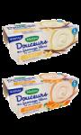 Dessert bébé dès 6 mois, fromage blanc abricots ou fromage blanc vanille Blédina