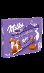 Ice cream hearts Milka