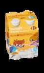 Yaourts à boire goût vanille Carrefour Kids