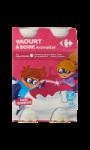 Yaourts à boire goût framboise Carrefour Kids