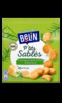 Biscuits apéritifs Ptit's sablés fromage Italien affiné & romarin Belin
