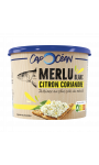 Tartinable merlu blanc, citron & coriandre Cap Océan