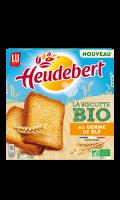 Pain grillé naturel Bio Heudebert