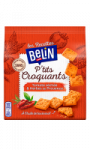Biscuits apéritifs Ptit's croquants tomate séchée & herbes de Provence Belin
