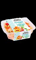 Salade thaï pâte poulet rôti gingembre sésame Pierre Martinet